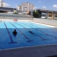 Photo taken at Sri KDU Swimming Pool by Farra H. on 6/29/2013