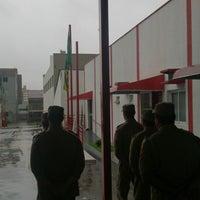 Photo taken at 8º Batalhão Bombeiro Militar (8º BBM) by Ricardo O. on 2/18/2015