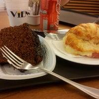 Photo taken at Viena Café by Manuela P. on 10/18/2012