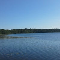 Photo taken at Озеро Гусевское by Екатерина С. on 7/26/2014