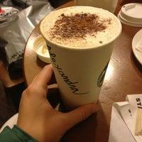 Photo taken at Starbucks by Alexandra on 1/4/2013