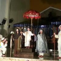 Photo taken at Igreja Nossa Senhora Das Gracas (tristeza) by Thiago D. on 3/24/2013