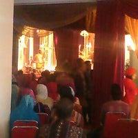 Photo taken at Graha Sriwijaya (Kampus UnSri) by Della H. on 9/16/2012