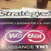 Photo taken at Stratégies by Sandrine A. on 10/18/2013