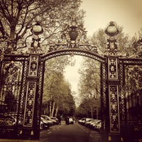Photo taken at Parc Monceau by Sandrine A. on 4/27/2013