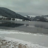 Photo taken at Lake Abant by Yağmur D. on 2/17/2013