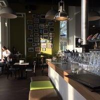 Photo taken at Stelios kitchen & bar by Jeroen B. on 3/7/2015