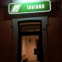 Photo taken at Stazione di Taviano by Fabio A. on 8/2/2013