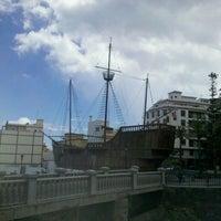 Photo taken at Museo Naval Barco de La Virgen by Santiago R. on 10/2/2013