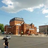 Photo taken at Могилёвский драматический театр by Адам Б. on 6/24/2013