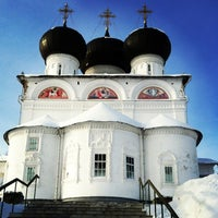 Foto scattata a Успенский Трифонов монастырь da vera il 2/1/2013