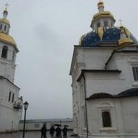 Photo taken at Свято-Знаменский Абалакский монастырь by Дмитрий В. on 6/2/2013