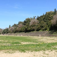 Photo taken at Ancient Stadium by Irene on 3/13/2013