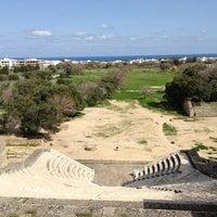 Photo taken at Ancient Stadium by Irene on 3/19/2013