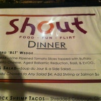 Photo taken at Shout! Restaurant & Lounge by Thor on 2/3/2013