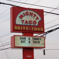 Photo taken at Mighty Taco by Joseph D. on 11/10/2012