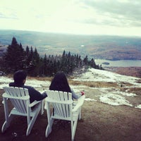 Photo taken at Sommet du Mont-Tremblant Summit by Thien Huy N. on 10/13/2012