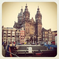 Photo taken at Amsterdam Central Railway Station by Anton G. on 4/26/2013