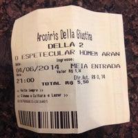 Photo taken at Cine Della by Julia V. on 6/4/2014