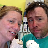Photo taken at Scoops Ice Cream by Christopher B. on 7/18/2013