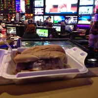Photo taken at Peppermill Race and Sports Book by Christopher B. on 11/16/2014