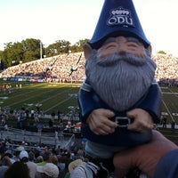 Photo taken at Foreman Field at S.B. Ballard Stadium by Beth on 9/16/2012