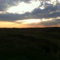 Photo taken at Noordwijkse Golfclub by Grand Hotel H. on 8/27/2013