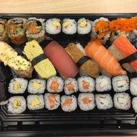 Photo taken at Sushi Kiosk by Maria K. on 5/29/2018