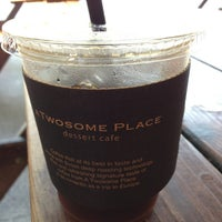 Photo taken at A Twosome Place by Vessel on 8/13/2013