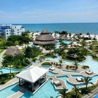 Photo taken at Wyndham Grand Playa Blanca by Kris N. on 11/2/2012