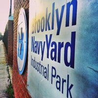 Photo taken at Brooklyn Navy Yard by Nick B. on 3/30/2013