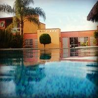 Photo taken at Villas Garza Azul by Mau D. on 12/28/2014