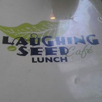 Photo taken at Laughing Seed Cafe by James on 12/30/2012