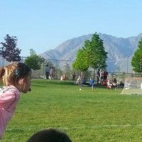 Photo taken at Lone Peak Park Soccer Fields by Joel S. on 5/15/2013