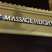 Photo taken at Massage Heights-Town Center by Carey G. on 12/29/2012