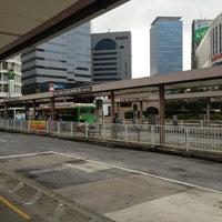 Photo taken at Shinjuku Sta. West Exit Bus Terminal by Takuma I. on 7/24/2013