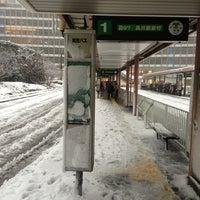 Photo taken at Shinjuku Sta. West Exit Bus Terminal by Takuma I. on 1/14/2013
