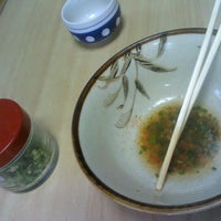 Photo taken at 麺類食堂 河崎屋 by Ise T. on 9/25/2012