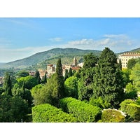 Photo taken at Villa d'Este by Daniele D. on 6/8/2014