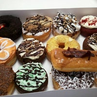Photo taken at Pookies Donuts by DailyCandy on 2/25/2014