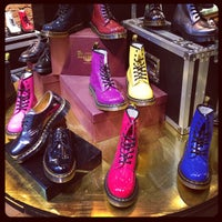 Photo taken at Dr. Martens by DailyCandy on 1/28/2013