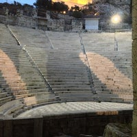 Photo taken at Herod Atticus Odeon by D. S. on 3/30/2013