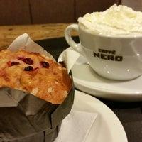 Photo taken at Caffè Nero by Catherine on 2/14/2015