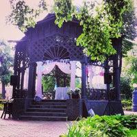 Photo taken at Hermitage Garden by Maksim C. on 6/8/2013