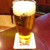 Photo taken at Ginza Lion by カナエ ハ. on 3/4/2014