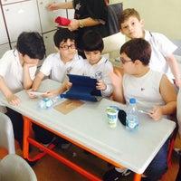 Photo taken at Yıldız Koleji by Osman Ç. on 6/13/2014