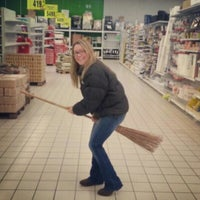 Photo taken at Auchan Fehér tó by Nicola S. on 3/7/2013
