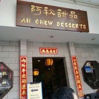Photo taken at Ah Chew Desserts 阿秋甜品 by Fanglin on 2/24/2013