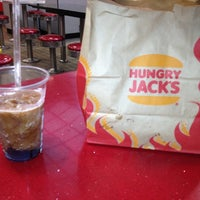 Photo taken at Hungry Jack's by Igor Shalaev on 11/25/2012