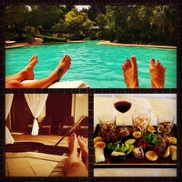 Photo taken at Spa & Salon at Four Seasons Resort and Club Dallas at Las Colinas by Lucid Routes K. on 7/20/2014